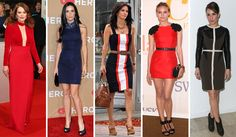 Great examples of Dramatic Classic dresses presented by: Julianne Moore, Demi Moore, Courteney Cox, Diane Kruger, Noomi Rapace.