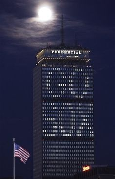 The Prudential Tower in Boston----yippee. We win!