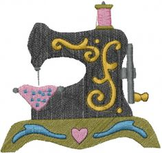 Free Sewing Machine Embroidery Design
