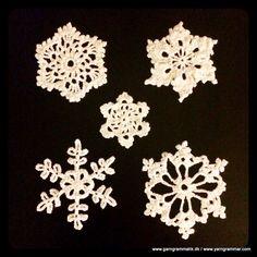 Opskrifter på forskellige snefnug
