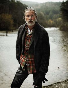 Multi-Generational Menswear Shoots - The Aiden Shaw and Mario Sanz El Pais Editorial is Rugged (GALLERY)