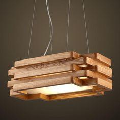 #Wood #Lights #Design