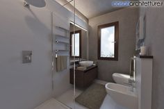 Bathroom Restyling Design by Casati Architetture - via Archilovers