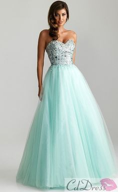 A line Sweetheart Satin and Tulle with Beading Prom Dresses - Prom Dresses - Special Occasion Dresses - CDdress.com