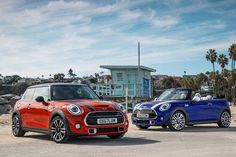 Mini refreshes its familiar Cooper Hardtop, and Convertible and reveals them ahead of their debut at the Detroit Auto Show. Mini Cabrio, Mini Cooper Hardtop, Mini Cooper Convertible, Best Insurance, Cheap Car Insurance, Automobile, Huntington Beach Ca, Anaheim Hills, Best Gas Mileage