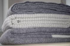 Vlnené deky v škandinávskom štýle