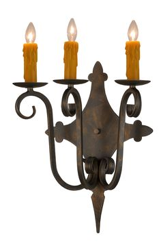 15.5 Inch W Angelique 3 Lt Wall Sconce - 15.5 Inch W Angelique 3 Lt Wall Sconce Theme: VICTORIAN LODGE Product Family: Angelique Product Type: WALL SCONCES Product Application: THREE LIGHT Color: Bulb Type: CNDL Bulb Quantity: 3 Bulb Wattage: 40 Product Dimensions: 18H x 15.5W x 8.5DPackage Dimensions: NABoxed Weight: 4 lbsDim Weight: 48 lbsOversized Shipping Reference: NAIMPORTANT NOTE: Every Meyda Tiffany item is a unique handcrafted work of art. Natural variations in the wide array of…