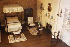 American Colonial Bedroom, 1740-1750  Phoenix Art Museum, Phoenix, Arizona