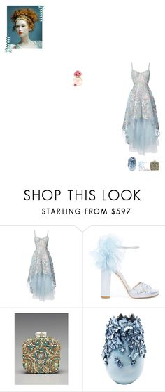 """""""We found Wonderland! You and I got lost in it"""" by fashionqueen76 ❤ liked on Polyvore featuring Notte by Marchesa, Marchesa and KARE"""