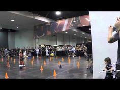 R2-D2 vs Chopper - Droid Races - Star Wars Celebration Anaheim 2015