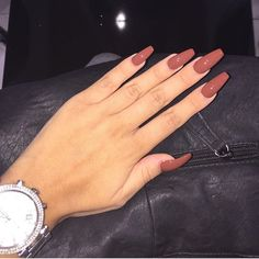 #nails #nailart #red #brickred #acrylics #acrylicnails