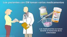 La mayoría de los pacientes con EM toman varios medicamentos durante el transcurso de la enfermedad.slide show: el control y el tratamiento de la esclerosis múltiple. en esta presentación de diapositivas se explican tres tipos de tratamientos que se usan actualmente para la esclerosis múltiple: intervenciones para tratar los síntomas, fármacos para tratar los ataques agudos y fármacos que modifican la evolución de la enfermedad.