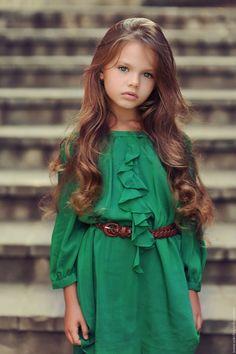 very beautiful little girl