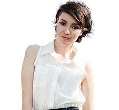 Nova Sleeveless Cotton Shirt, White