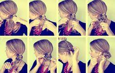 Model Rambut Kepang Untuk Pesta
