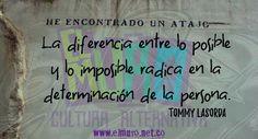 #TommyLasorda #Determinación #Posible #Imposible #Fuerza #FraseDelDía #RevistaElMuro