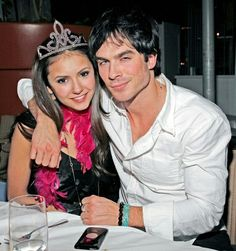 Who does elena gilbert dating in real life