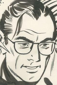 Prentice, John - Rip Kirby - Dailies for July 6 through 1987 - W. Comic Frame, Jordi Bernet, Alex Toth, Ligne Claire, Fantasy Comics, Bd Comics, Black White Art, Retro Illustration, Ad Art