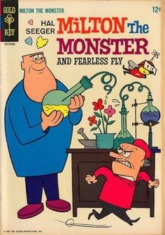 Milton The Monster #1 Gold Key Comics (1966)
