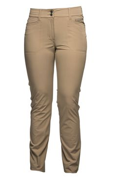 These stylish #DailySports pants are designed with miracle pro-stretch fabric that is soft comfortable and offers full freedom of movement.  Lots of pockets makes these pants a must have on and off the course! #golf #sale