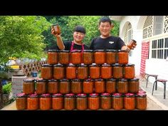 cuire la sauce tomate aujourd'hui. si facile et ça ne va pas mal pendant un an - YouTube Condensed Milk Recipes, Cooking Tomatoes, How To Make Jam, Sauce Tomate, Pressure Canning, Sauces, Preserving Food, Tomato Sauce, Yummy Food