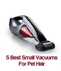 It's a lot easier to use a lightweight hand-held vacuum cleaner to suck up these pet hairs than an upright vacuum, and there are those that are particularly efficient pet hair suckers! Here are the top five pet owner favorites: ... see more at PetsLady.com ... The FUN site for Animal Lovers
