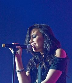 "Demi Levato pic-Even though I only listen to her every so often, I saw her documentary ""Stay Strong"" & it was amazing!  It was so real and inspiring. It made me become more interested in her."