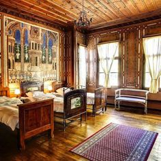 Step back in time to the Bulgarian Renaissance with our Hostel of the Month Old Plovdiv. Let's just take a moment to drool over the décor. There are wooden columns made of Lebanese cedre marble from Ottoman Turkey huge windows 4m high and an original R