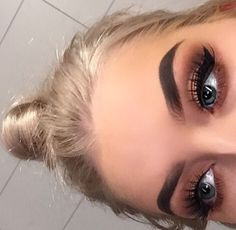 her eyebrows are everything glad I learned how to do my eyebrows & learned how to shape them you really have to have patience , eyebrows are a learning process u don't want them looking like blocks !