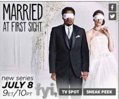 Married at First Sight. I'm actually really loving this show, even with all the controversy surrounding it.
