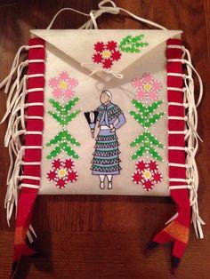 Parfleche Bag I made for my grandma Eula Hotomani