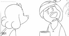 2D Traditional Animation : Photo