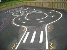 Road Markings | Playground Markings