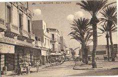 CPA Tunisie Bizerte Rue d Espagne (25718)