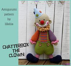 Chatterbox the Clown by lilleliis (Mari-Liis Lille)-Free Craft Patterns