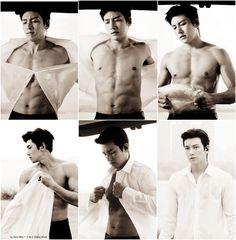 Ji Chang Wook in _The aahh felling blessed Yoona Ji Chang Wook, Ji Chang Wook Abs, Ji Chang Wook Smile, Ji Chang Wook Healer, Ji Chan Wook, Lee Dong Wook, Hot Korean Guys, Korean Men, Asian Actors