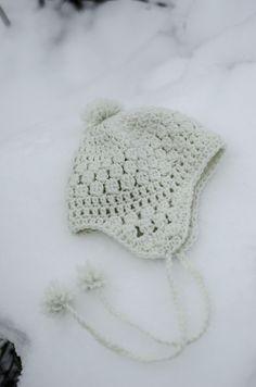 Snowbelle…free pattern crochet hat