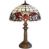 """Kliving 16"""" Wycombe Tiffany Table Lamp"""