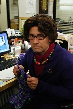 The Office. Michael as Phyllis