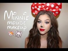 Minnie Mouse | Makeup Tutorial - YouTube