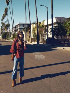 visual optimism; fashion editorials, shows, campaigns & more!: vidvinkel: marta dyks by anja poulsen for elle sweden february 2015
