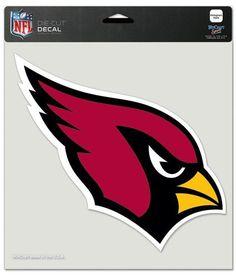 "Arizona Cardinals Die-Cut Decal - 8""x8"" Color"