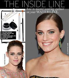 Tips to Master Wearing Eyeliner on Your Waterline