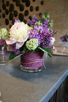 Floral Arrangement - Purples!