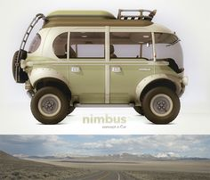 Modern Hippie Bus Goes Where Vintage Volkswagens Can't