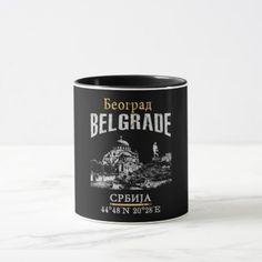 Belgrade Mug - retro gifts style cyo diy special idea
