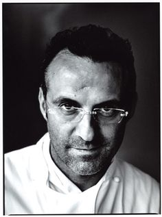 Massimo Bottura of Osteria Franscescana in Florence - number 5 restaurant in the world.