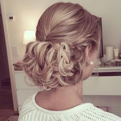 40 Cute and Trendy Updos for Long Hair Prom Updo, Messy Hairstyles, Pretty Hairstyles, Wedding Hairstyles, Wedding Hair And Makeup, Bridal Hair, Hair Makeup, Love Hair, Great Hair