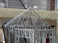 horsea specialized in the light steel buildingsChina Steel Consruction Steel Buildings, Framing Materials, Villa, Lighting, Frame, House, Home Decor, Picture Frame, Decoration Home