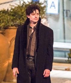 Shop The Jet Black Aneurin Barnard The Goldfinch Adult Boris Coat. Marvel Dc Movies, Aneurin Barnard, Donna Tartt, Goldfinch, Marie Gomez, Movies Showing, Metropolitan Museum, Black Wool, Pretty Boys